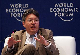 Mauricio Cárdenas Santamaría - Image: Mauricio Cárdenas Santa María at World Economic Forum