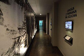 Mausoleum of Struggle and Martyrdom - Interior of the museum