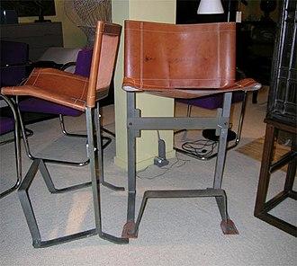 Max Gottschalk - Image: Max Gottschalk Bar stool 1