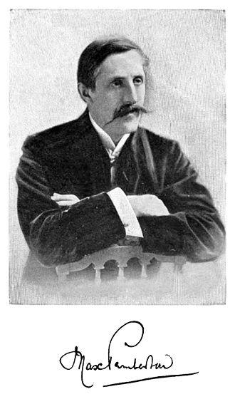 Max Pemberton - ca. 1897