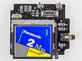 Maxtech Moveman SSP-80HCF+ - controller board with Panasonic 2 MB CF card in slot-9677.jpg