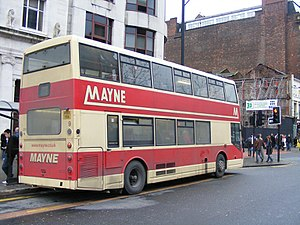 East Lancs Cityzen - Image: Mayne East Lancs Cityzen 9 rear