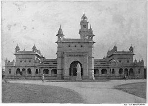Mayo College - College building c. 1895