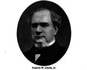 Frederic W. Lincoln Jr. (politician) - Image: Mayor FW LINCOLN