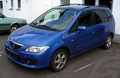 Mazda Premacy I po face liftingu