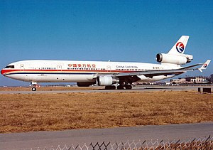 China Eastern Airlines Flight 583 - Image: Mc Donnell Douglas MD 11, China Eastern Airlines AN0220927