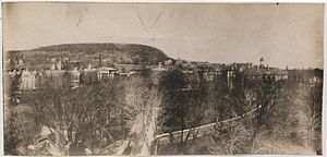 McGill University - McGill University and Mount Royal, 1906, Panoramic Photo Company