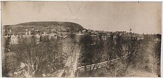 McGill University - McGill University and Mount Royal, 1906, Panoramic Photo Company