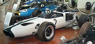 McLaren - The McLaren M2B the team's first Formula One car