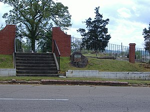 McLemore Cemetery - Entrance to McLemore Cemetery in 2008
