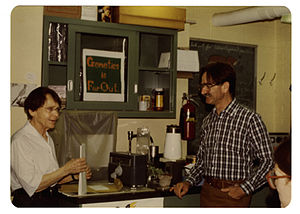 George Rédei - George Rédei and Barbara McClintock. 1978