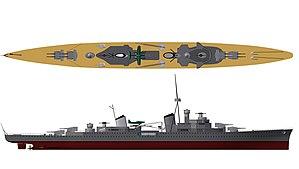 M-class cruiser - Image: Mclass Cruiser 2Dmap 5 e Big Flagalt