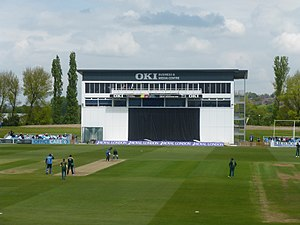 County Cricket Ground, Derby - The new media centre - May 2017.