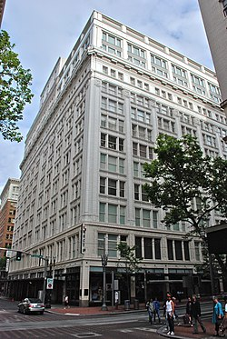 Meier & Frank Building - north and west sides (2012).jpg
