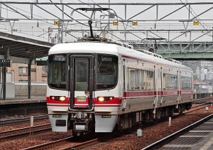 Meitetsu 1600 series - Set 1601 in 2008