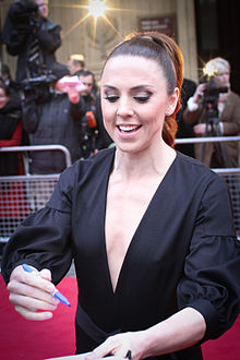 Mel C arriving at the Royal Albert Hall.jpg
