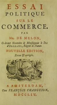 Melon - Essai politique sur le commerce, 1754 - 5717500.tif