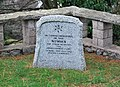 Memorial, Homeyards Botanical Gardens - geograph.org.uk - 1121326.jpg