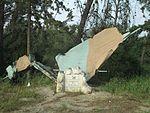 Memorial to the IAF pilot Arnon Livnat in Ben Shemen forest.jpg