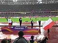 Men's pole vault medal ceremony (35726613774).jpg