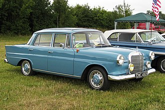Mercedes-Benz W110 - 1964 Mercedes-Benz 190 (W110 First Series)