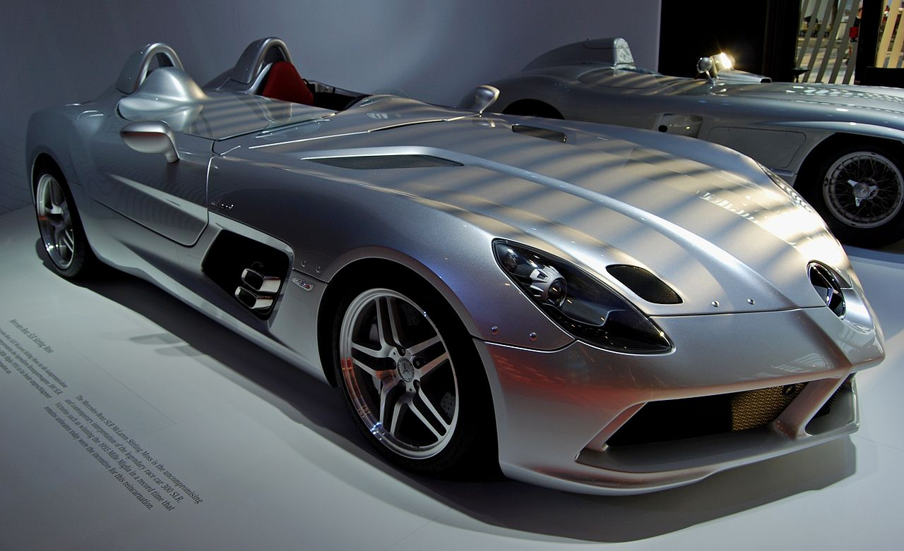 File mercedes benz slr stirling wikimedia commons for Moss motors mercedes benz