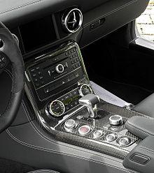 Mercedes-Benz SLS AMG (C 197) – Innenraum (2), 10. August 2011, Düsseldorf.jpg