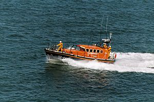 Mersey-class lifeboat - Image: Mersey Class Lifeboat 12007 Photograph By Robert Kilpin