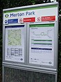 Merton Park tramstop signage.JPG