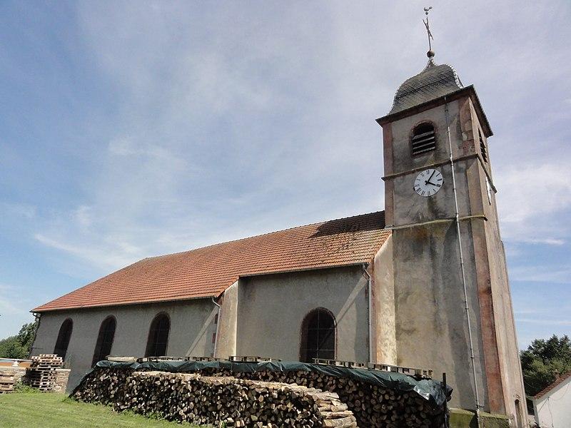 Merviller (M-et-M) église
