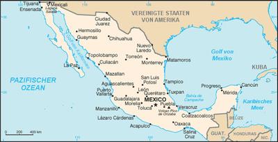 mexico karte Liste der Städte in Mexiko – Wikipedia mexico karte