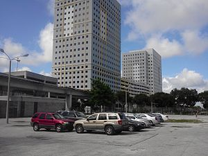 Miami-Dade Transit headquarters at Metrorail station.jpg