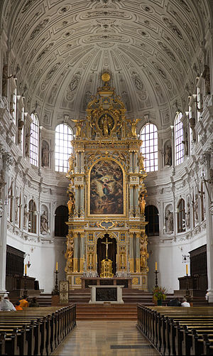 St Michael's Church (Neuhauser Straße, Munich) - The High Altar