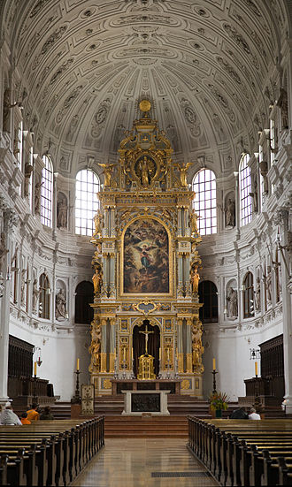 St. Michael's Church, Munich - The High Altar