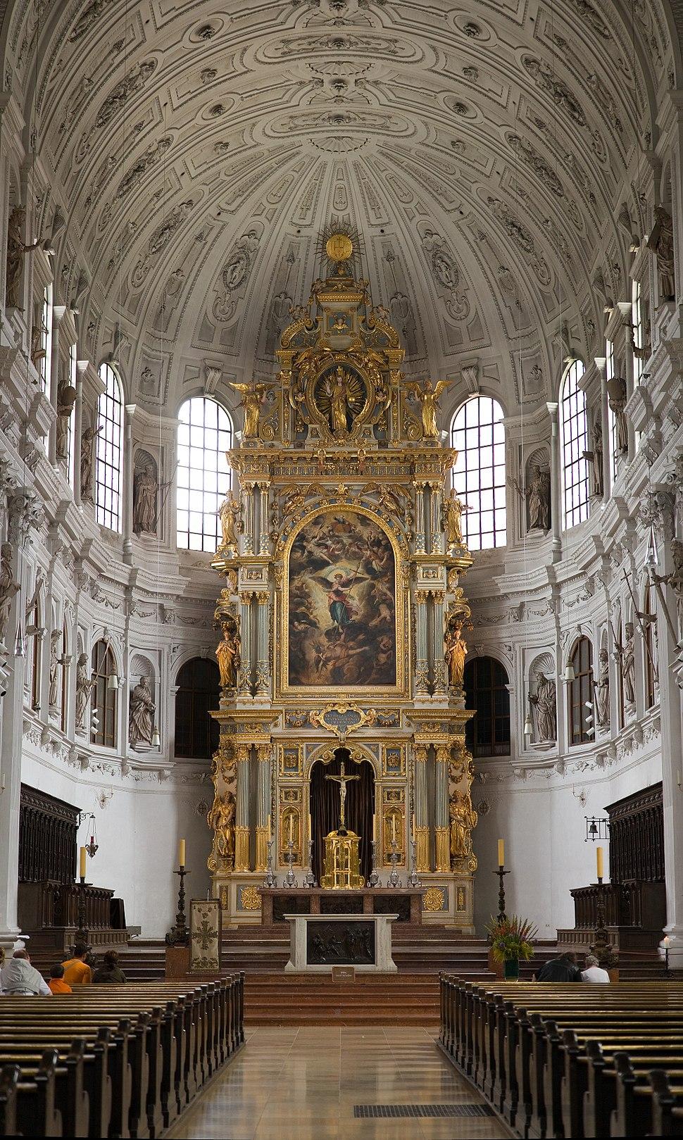 Michaelskirche Munich - St Michael%27s Church High Altar