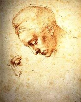 Leda and the Swan (Michelangelo) - The Casa Buonarroti study