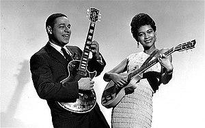 Mickey & Sylvia - The duo in 1956.