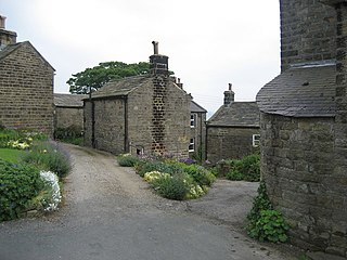 Middlesmoor village in United Kingdom