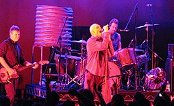 I Midnight Oil in concerto nel 2009 a Canberra