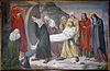 mijdrecht, driehuisplein, rk kerk kruiswegstatie 14 - jezus wordt in het graf gelegd 1368
