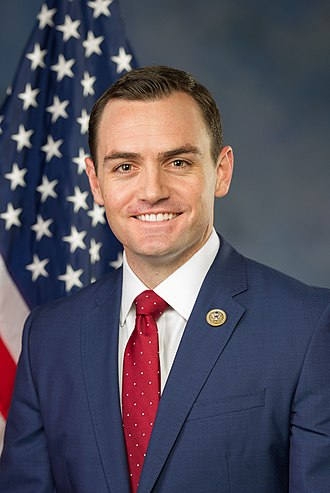 Mike Gallagher (American politician) - Image: Mike Gallagher official portrait, 115th congress