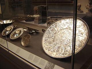 Roman silver tableware hoard