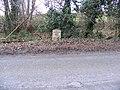 Milepost on A144 The Street, Bramfield - geograph.org.uk - 1189187.jpg