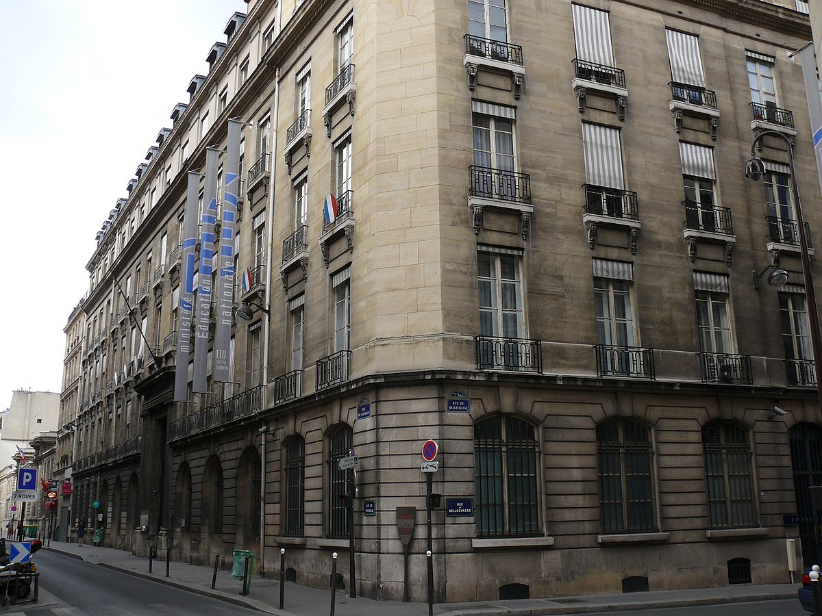 Ministry of national education france wikipedia - Office education nationale ...