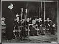 Ministers, verdragen, Bech, Bevin, Bidault, Boetzelaer van, Brussel, Pact van, Bestanddeelnr 136-0522.jpg