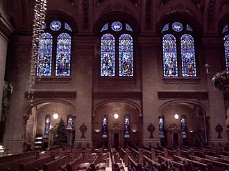 Basilica of Saint Mary (Minneapolis) - Stained glass windows