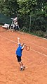 Misel Klesinger playing tennis at Klesinger Tennis Residence in Croatia.jpg