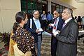 Mita Chakrabarty - Ganga Singh Rautela - K P V Nair - Rama Prosad Banerjee - Science City - Kolkata 2014-02-13 2273.JPG
