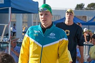 Mitch Larkin Australian swimmer, Olympic athlete, world champion, Commonwealth Games gold medallist