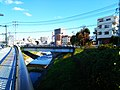 Mito ibaraki sakasa river bridge 16 funatuki.jpg